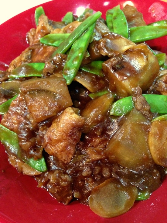 賀茂茄子の味噌炒め2