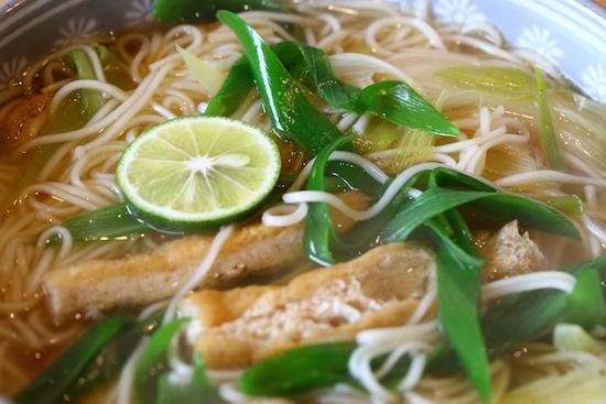 煮麺(にゅうめん) むそう塾 マクロビオティック料理教室2
