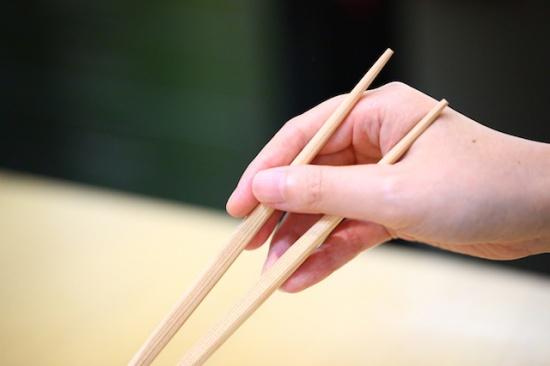 中川式お箸の正しい持ち方6