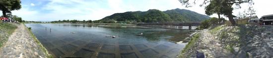 京都 嵐山 渡月橋