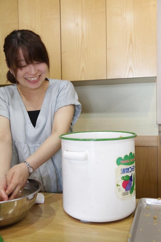 マクロビオティック料理教室 むそう塾 赤ちゃん2