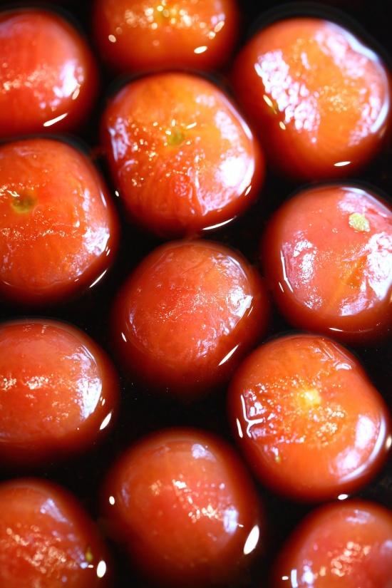 マクロビオティック料理教室むそう塾 プチトマトの時雨煮