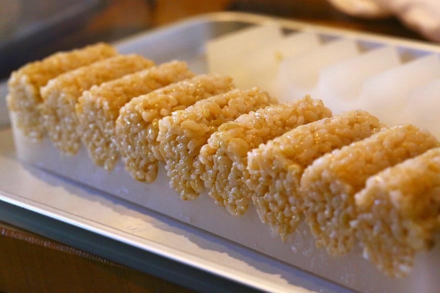 玄米ご飯と物相 マクロビオティック京料理教室 むそう塾