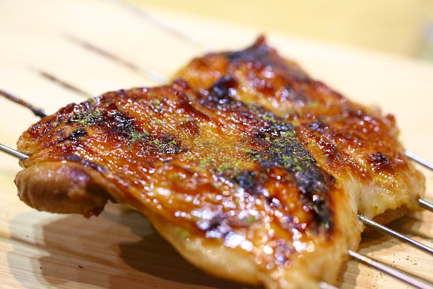 地鶏のつけ焼き マクロビオティック京料理教室 むそう塾