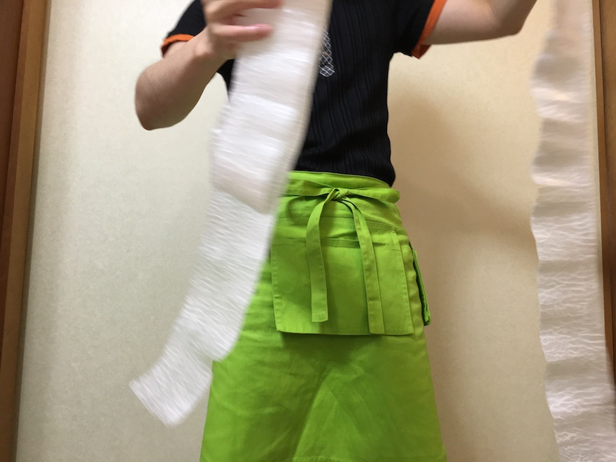 桂剥き マクロビオティック京料理教室 むそう塾3