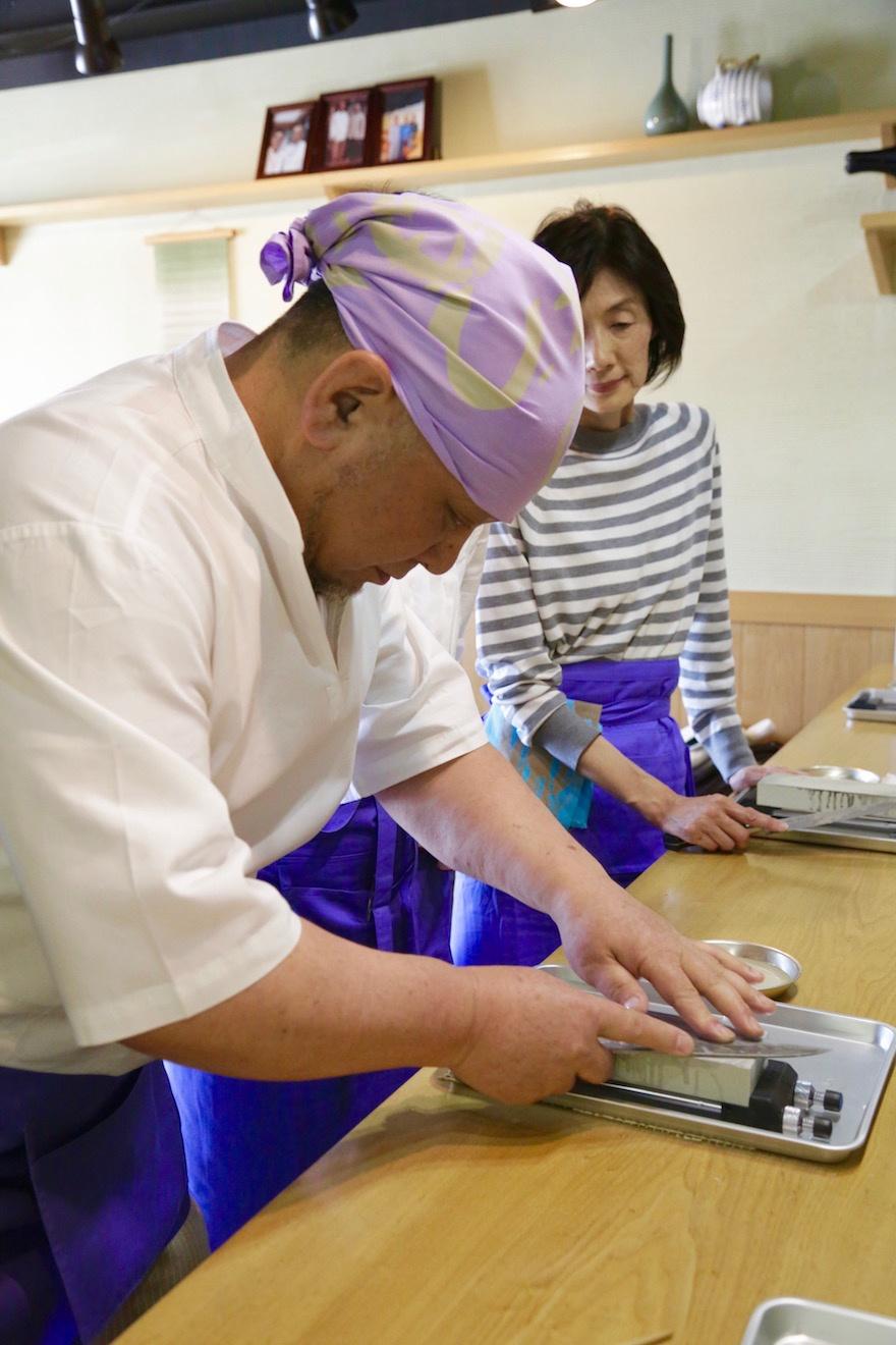 包丁砥ぎ マクロビオティック京料理教室 むそう塾