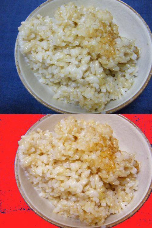 中川式玄米の炊き方指導。