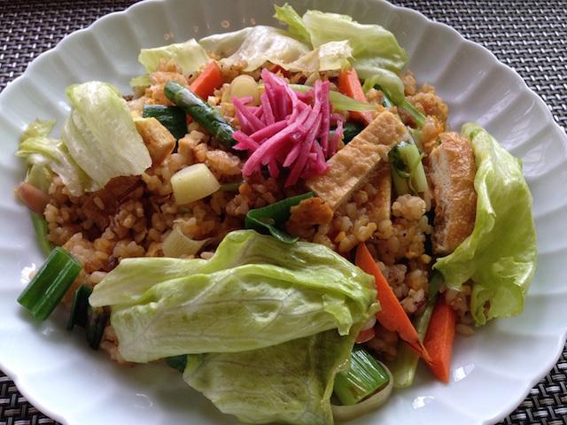 玄米チャーハン (3)