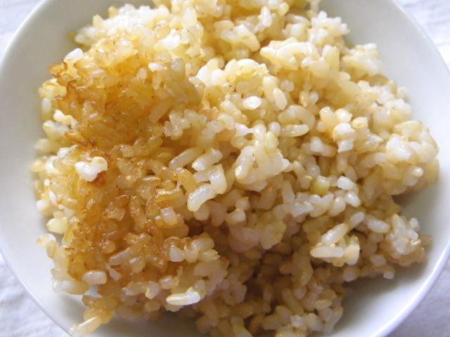 玄米御飯8回目
