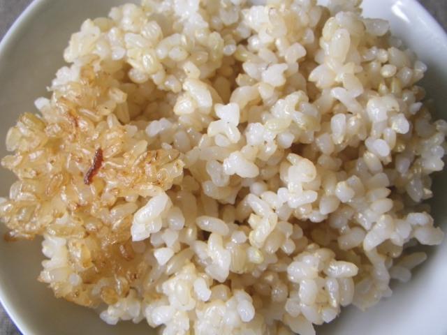 玄米御飯15回目
