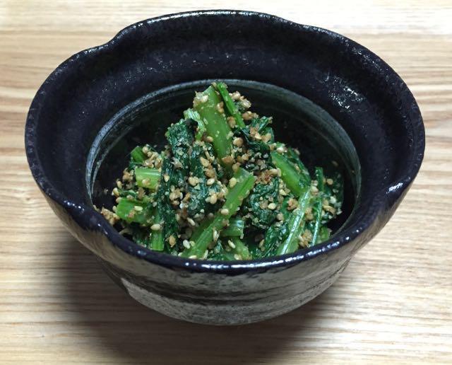 小松菜1です