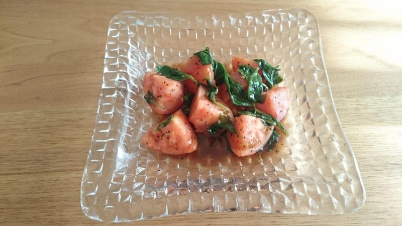 20160821_トマトのバルサミコ風味