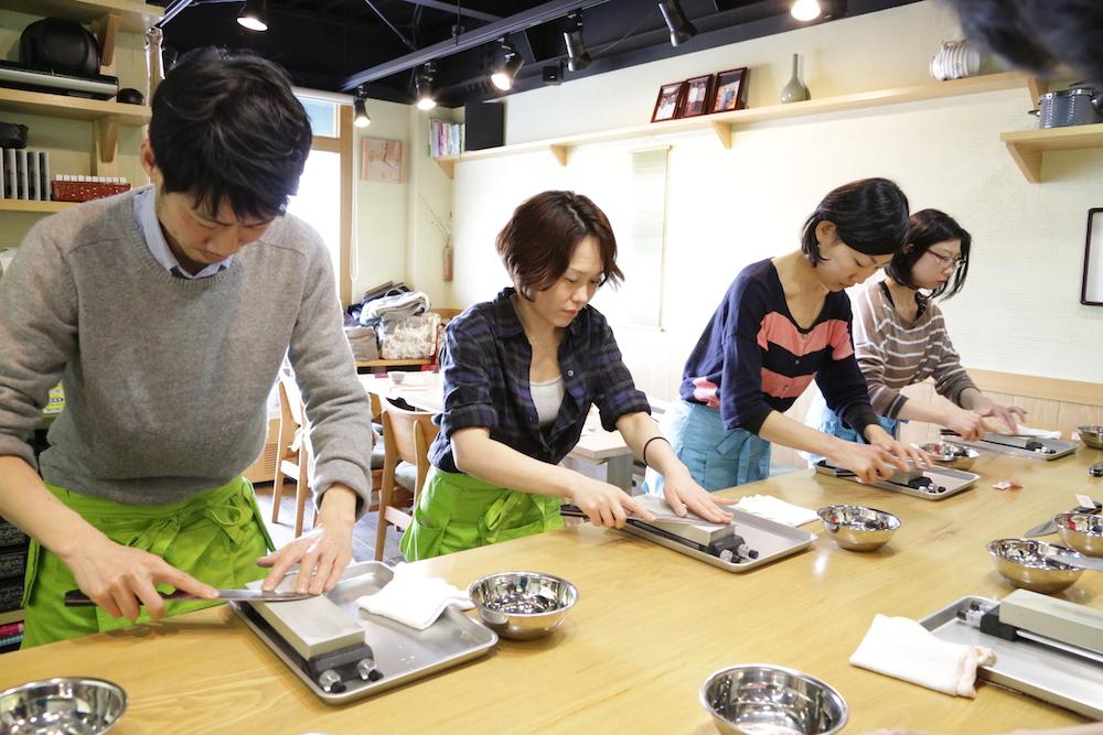 包丁砥ぎ マクロビオティック料理教室 むそう塾